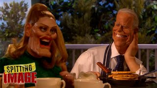 Joe Biden's Victory Breakfast with Adele | Spitting Image