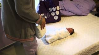 寶寶出院衛教 (抱小孩/拍打嗝/包包巾)