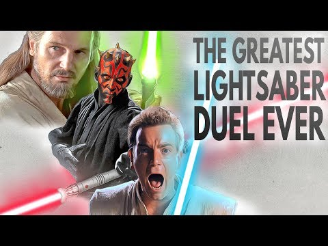 Star Wars: The Greatest Lightsaber Duel Ever | Video Essay