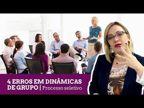 4 Erros em dinâmicas de grupo - Dicas para entrevista de emprego 7efca5b5fc19b