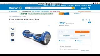 Walmart Starts Selling Hoverboards