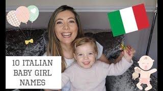 10 ITALIAN BABY GIRL NAMES