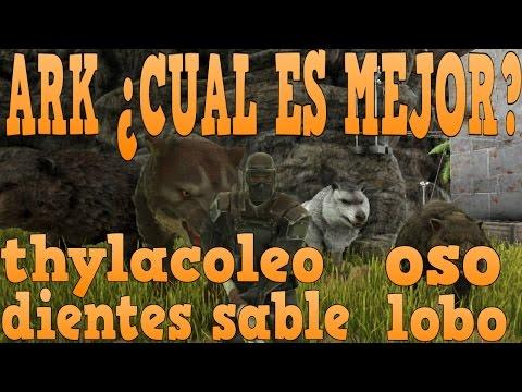 ark-:-thylacoleo-vs-lobo-vs-oso-vs-dientes-de-sable-analisis-definitivo