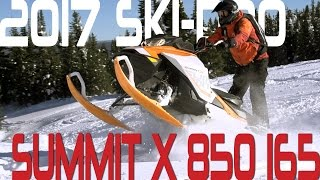 STV 2017 Ski-Doo Summit X 850 165