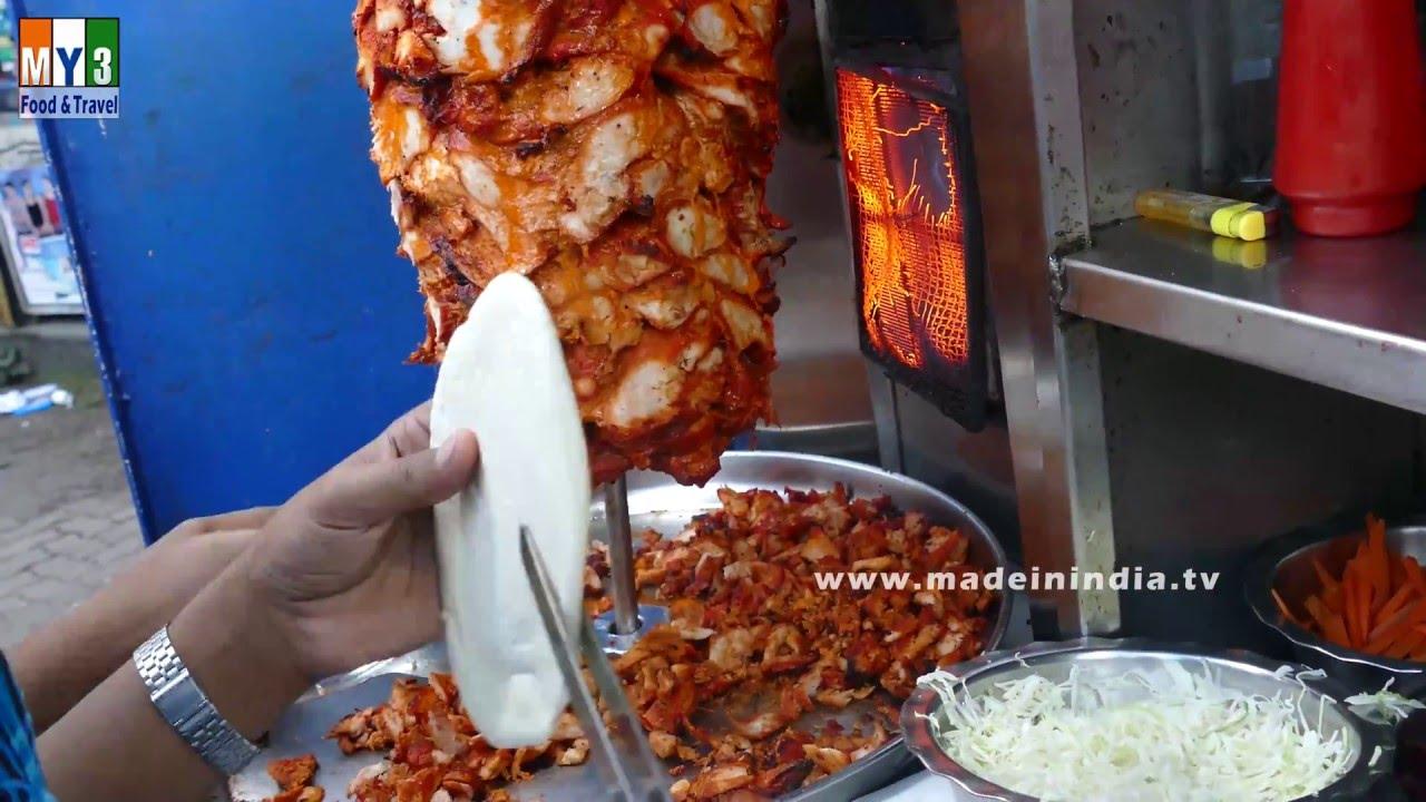 Chicken shawarma roll - photo#32