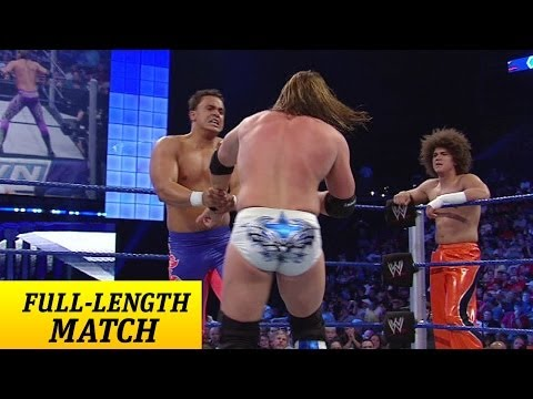 FULL LENGTH MATCH - SmackDown - Zack Ryder & Curt Hawkins vs. Carlito & Primo