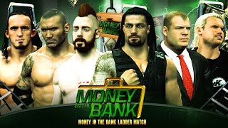 Money in the Bank 2015 - Money in The Bank Ladder Match - WWE 2K15 Mods