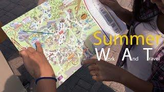 WORK AND TRAVEL - Ответы на вопросы. Лето студента в Америке.(Привет. Поговорим о летней программе Work and Travel и узнаем как провести лето в Америке! Ссылка на агенство чере..., 2015-09-04T20:32:56.000Z)
