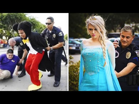 7 Disney Characters Who Were Arrested |