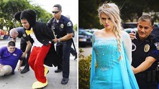7 Disney Characters Who Were Arrested