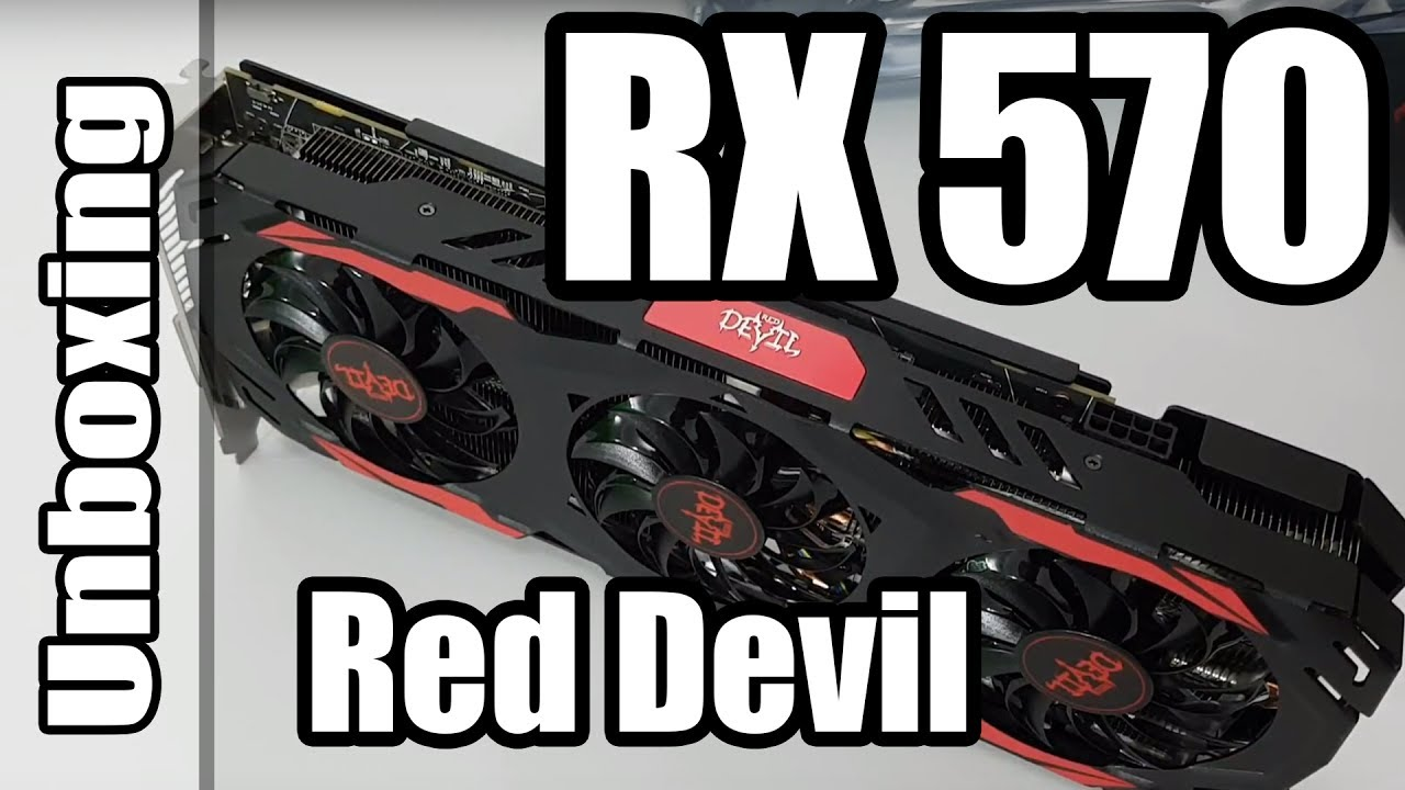 Unboxing RX 570 Red Devil 4GB Powercolor Radeon AMD - YouTube 81cc48c86c7