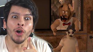 GRANNY SE TRANSFORMÓ EN UNA HELADERA CREEPY !! WTF - Ice Scream 2 (Horror Game)   DeGoBooM