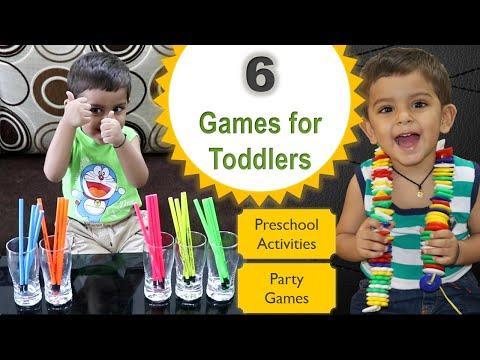 6 Indoor Games for kids   activity for kids   games for toddlers   Preschool Kids   children games