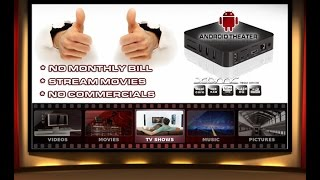 Android Theater TV Box promo commercial