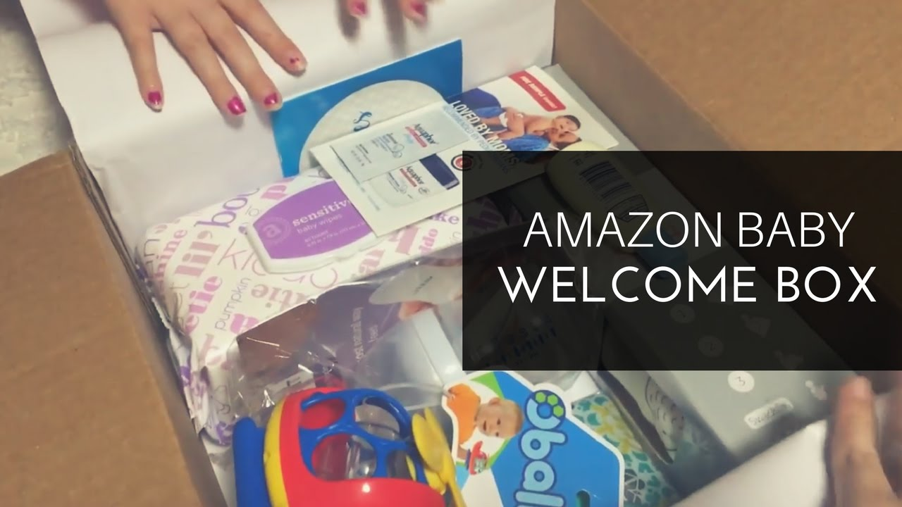 Amazon Baby Registry Welcome Box - YouTube