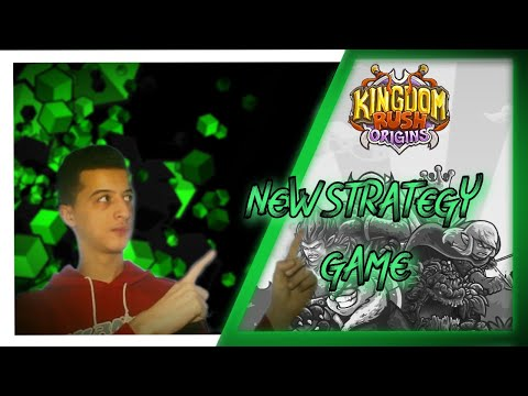 KINGDOM RUSH ORIGINS  | //FIRST KINGDOM RUSH VIDEO// HOW TO PLAY AND HOW TO WIN ( TIPS AND TRICKS )