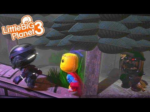 CAMP GREYWOODS CURSE | LittleBIGPlanet 3 Gameplay (Playstation 4)
