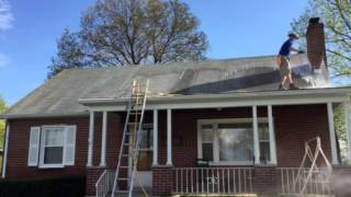 Non pressure roof cleaning Hagerstown