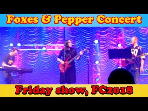 Foxes and Pepper Friday Concert FurCon'18