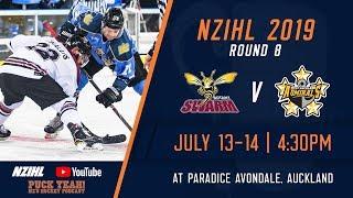NZIHL 2019 | Round 8: Botany Swarm v West Auckland Admirals  - July 13