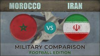 MOROCCO vs IRAN - Military Power Comparison - 2018 [FOOTBALL EDITION]