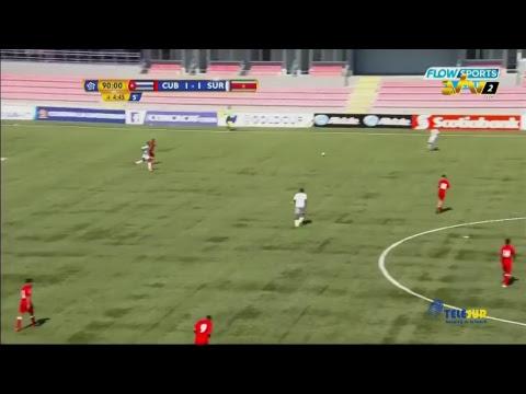 Concacaf cup Suriname vs Cuba