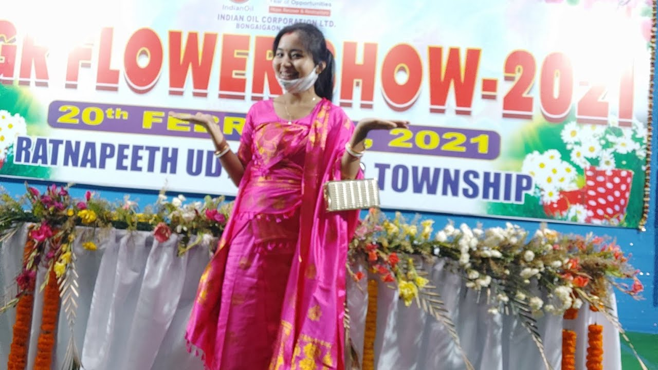 Flower Show Program Competition ll बाजै आदा लोगोजों ll Bodo Family vlog