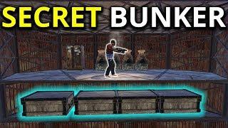 Raiding A LOADED SUPER SECRET BUNKER BASE - Rust Survival
