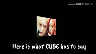HyunA and E'Dawn kicked out of Cube Entertainment?!
