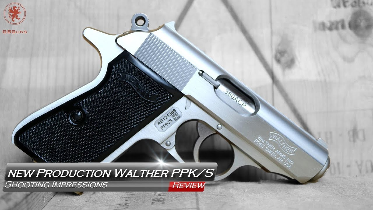 New Production Walther PPK/S Shooting Impressions