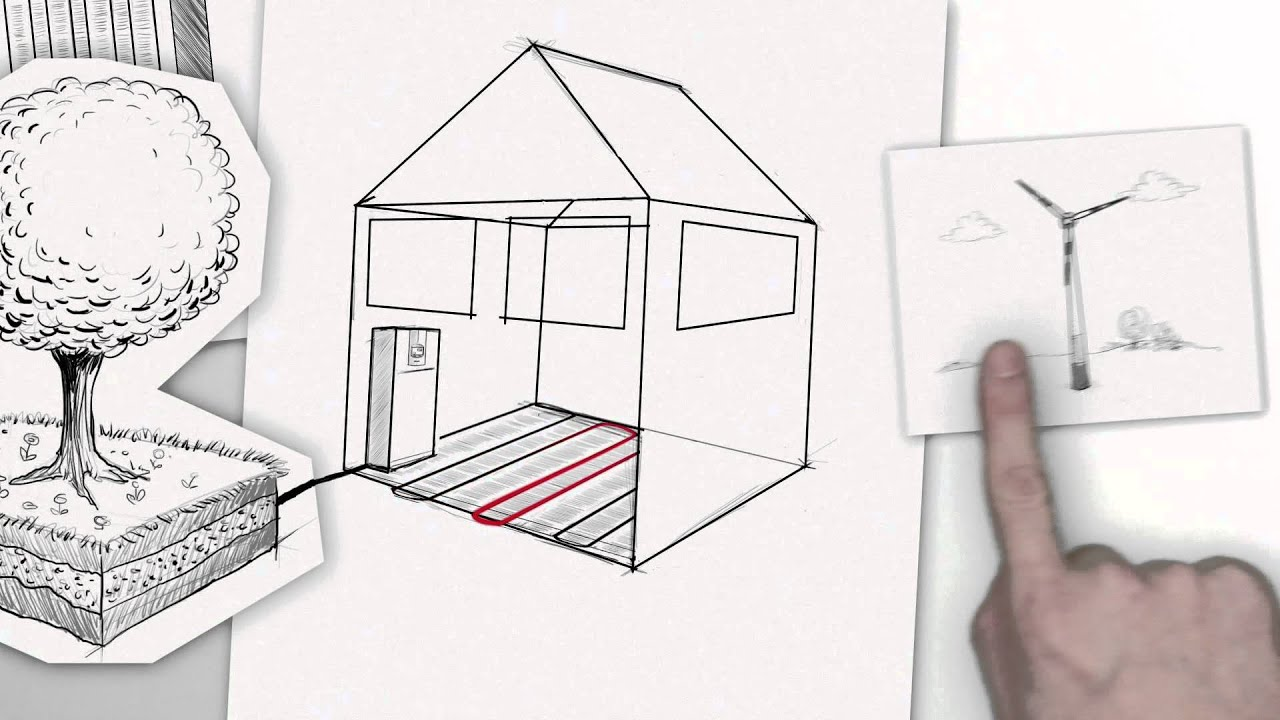 wie funktioniert eine w rmepumpe youtube. Black Bedroom Furniture Sets. Home Design Ideas