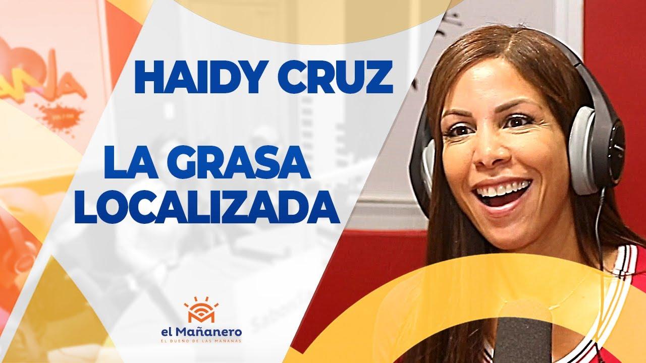 Haidy Cruz - La Grasa localizada - YouTube
