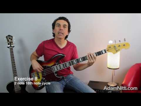 D'Addario Education Collective: Sixteenth Note Groove Syncopation for Bass
