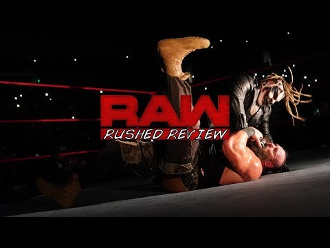 THE FIEND BRUTALIZES BRAUN STROWMAN RUSHED RAW REVIEW: WWE RAW SEPTEMBER 23RD 2019 RESULTS REACTIONS