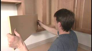 Cabinet Shelves: How-to Adjust Or Install