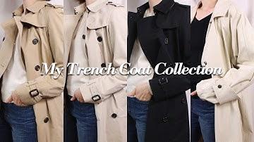 트렌치 코트 모음집(버버리 헤리티지 트렌치, 이자벨마랑) 패션하울  l My Trench Coat Collection(Burberry, Isabel Marant)