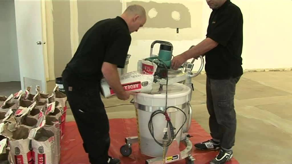 How To Self Level Floors Using Ardex And Smart Mixx Youtube
