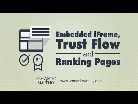 Embedded IFrame, Trust Flow And Ranking Pages