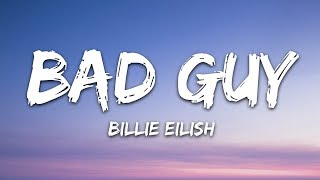 Gambar cover Billie Eilish - bad guy (Lyrics)