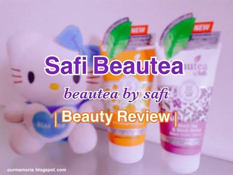 Cara Membersih Muka Menggunakan Safi Beautea