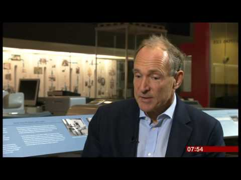 "Tim Berners-Lee Calls for an ""Internet Magna Carta"" on the 25th anniversary of the World Wide Web"