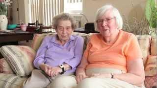 Elderly BFF's Talk About Friendship - Cyber-Seniors Corner