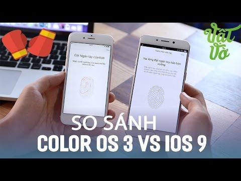 Vật Vờ| Giao diện Color OS 3 của OPPO giống iOS 9 như sinh đôi