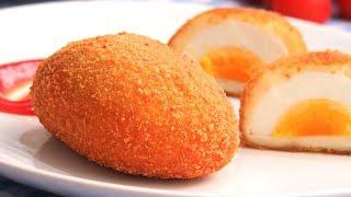 Huevos con Bechamel o Villaroy   Una receta deliciosa e irresistible!