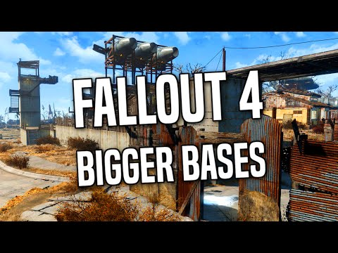 how to increase settlement size in fallout 4 - Siteze
