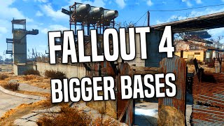 FALLOUT 4 BIGGER BASES - Increase Settlement Size Exploit Without Mods