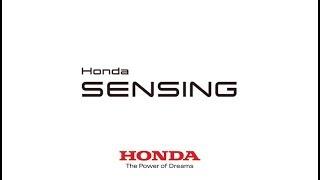 Honda Sensing | Système de reconnaissance des panneaux de signalisation