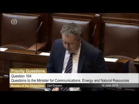 Michael Moynihan: Priority Questions - Broadband.
