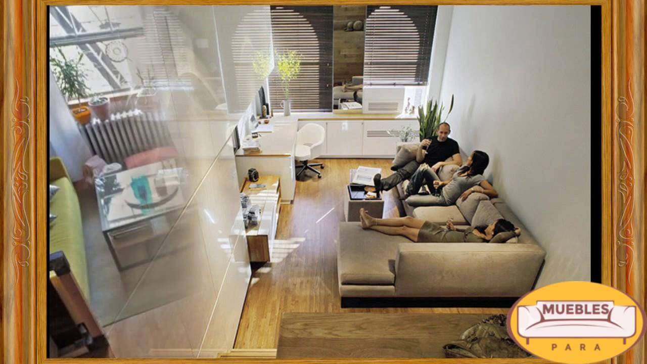 Apartamentos Pequeños pero Espectaculares - YouTube