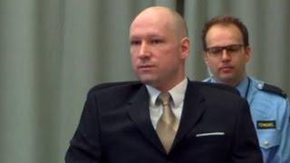 Брейвик жалуется на нечеловеческие условия содержания в тюрьме